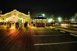 Tranquility at the Pier by Studio5
