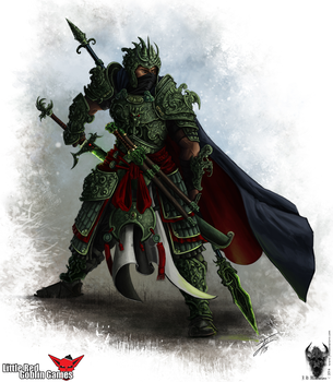 Dragon Tiger Ox - The Jade Warrior by Narcotic-Nightmares