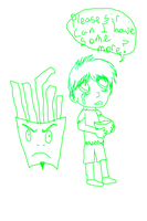 Please Sir, Frylock by Andrea-Perry