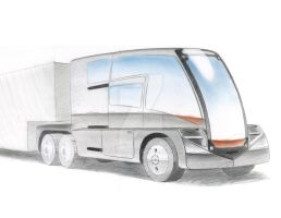 Electric Big Rig sketch 1 by Augos