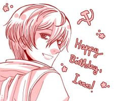 Happy Birthday Ivan by CreamyWay
