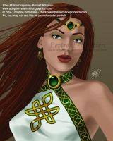 PA Art - Celtic Lady by mersades