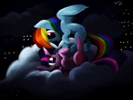 Twidash - Night in the city by mylittlelevi64