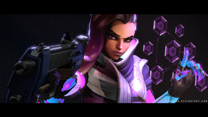 Boop! - Sombra / Overwatch / Source Filmmaker by lemon100