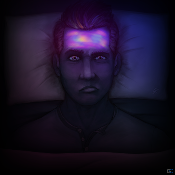 You wish you could sleep, but your mind says 'Hi' by GCnotPD