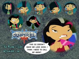 Juniper Lee Wallpaper no.4 by malachitecat