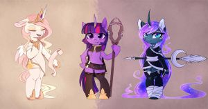 Goddesses by MagnaLuna