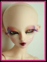 Sterre - a rainbow face-up 7 by PinkHazard