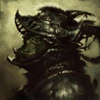 Orcish Conquistadore by Eidenet