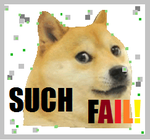 Doge green screen fail by Via12345