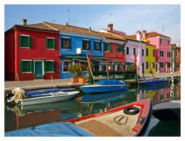 Venice - Colours of Burano by AgiVega