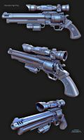 FPS_Revolver_HighPoly by boyluya