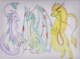 So many... colors! X ~X by Dragon-Wish