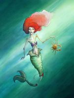 Zombie Gingers: Ariel by ThePea