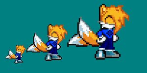 Vera the fox sprite by Kenji42