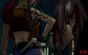 Revy Wallpaper by Milee-Design