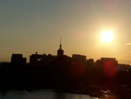 a Boston sunset by lil-miss-mousey