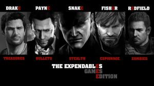 The Expendables Games Edition by Poser96