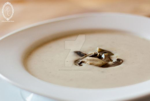 Mushroom soup by goncalo-lopes