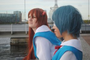 +Cosplay + You are +not+ alone by sweet-potato-ocarina