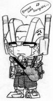 He's got a KILT-exclamation- by Autobot-Windracer