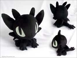 Chibi Toothless by xSystem