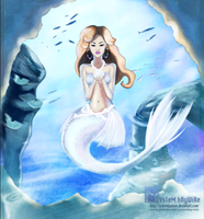 Arid Clouds _ Jade Mermaid (finished) by sYsTeMhAyWiRe