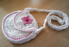 Crocheted Purse 2 by midorigraphic