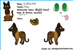 Buffaloleap Reference Sheet Contest Entry~ by PannyPan