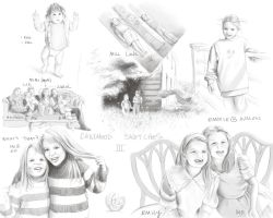 Sketches - Childhood III by mynti