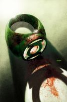 Green Lantern cover by Devilpig
