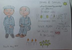 Bruno and Shmuel: Holocaust Remembrance by JeanetteWong98