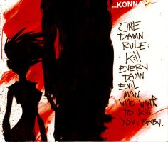 theKONNA one damn rule by Millus
