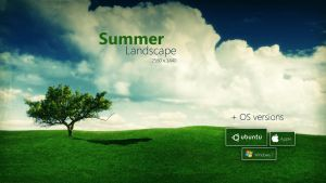 Summer Landscape Wallpaper by Martz90