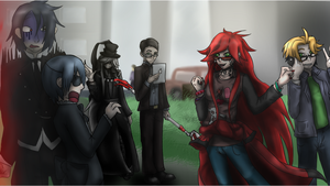 Black butler Welcome to the future by StarsInTheDarkness