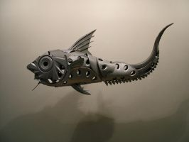 Ratfish Grenadier by HubcapCreatures
