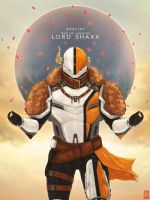 Destiny: Rise of Legends- Lord Shaxx by TheChrisPMan
