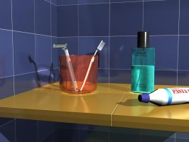 Bathroom by utak3r