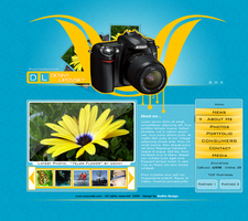 Photographer Website by Andre99