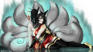Limitless Ahri by LimitlessDreamer