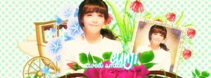 [Cover] Eunji Sweet Smile by HanaBell1