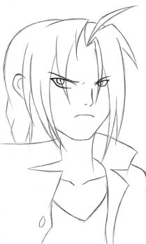 Edward Elric Sketch by Eduar14