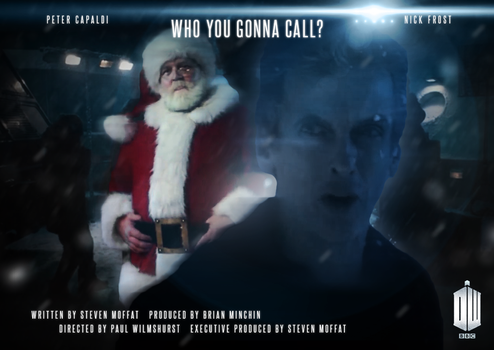 Doctor Who: Christmas Special 2014 Poster by tardisplus