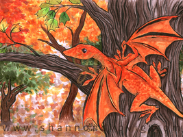 Autumn Dragon by zingmroo