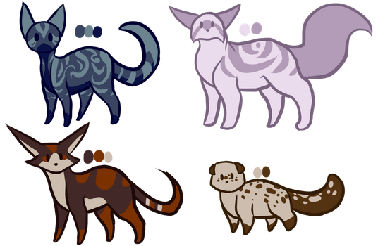 Adoptable Batch 3 by FlabFire