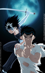 Yusuke and hiei by llSwaggerll