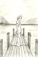 Standing Away by eanh