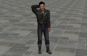 'Mafia 2' Vito Scaletta Biker Outfit XPS ONLY!!! by lezisell