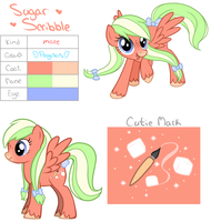 Sugar Scribble by Katyenka-Svetlana
