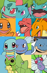 Kanto Collage by HappyCrumble